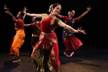 Malini Srinivasan and Dancers